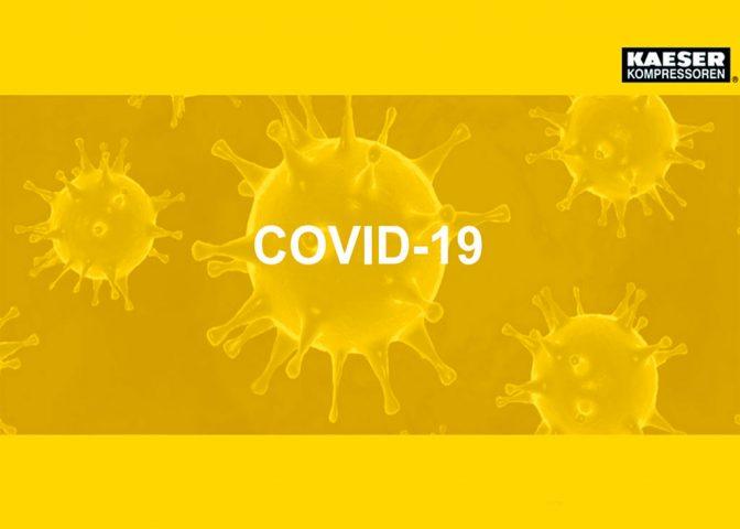 Рекомендации для снижения заражении от короновируса Covid-19 от сотрудников Kaeser