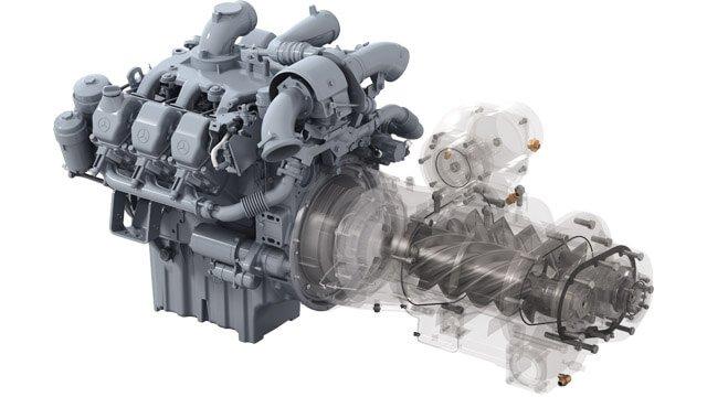 Двигатель передвижного компрессора Kaeser