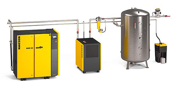 Осушитель сжатого воздуха для компрессора