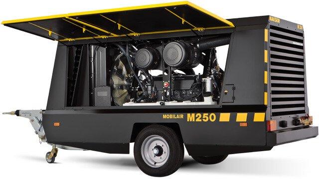 Передвижной компрессор Mobilair М250
