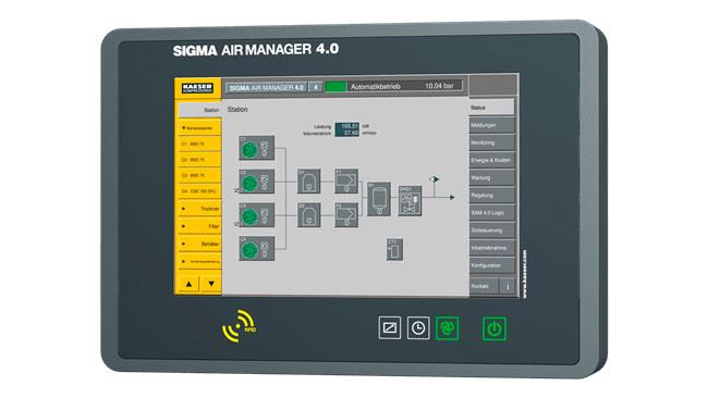 Система управления компрессором SIGMA AIR MANAGER 4.0